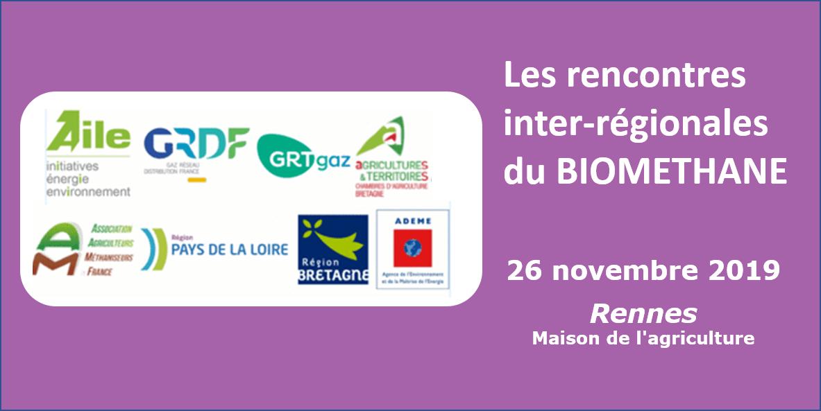 Rencontre inter-régionale du biométhane