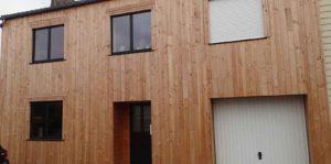 Rénovation BBC maison en briques Bayeux Normandie