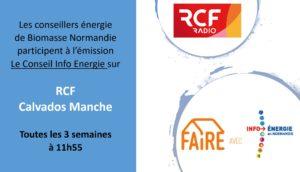 Le conseil Info énergie FAIRE sur RCF
