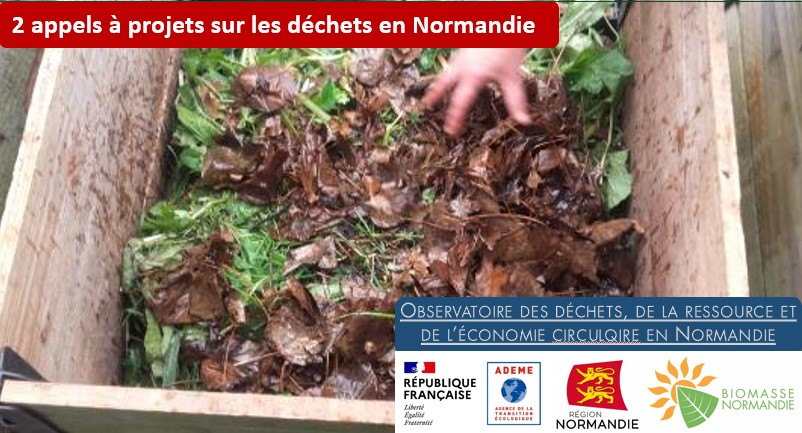 Appel à projet déchets en Normandie
