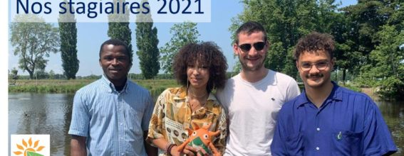 Nos stagiaires 2021